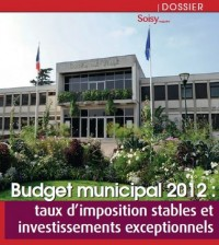 Soisy Magazine septembre 2012. budget municipal 2012 Soisy-sous-Montmorency investissements